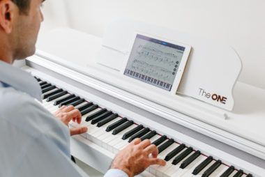Pianino, które nauczy Cię grać!